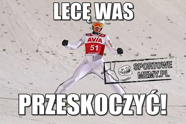 """Kamil Stoch i Maciej Kot wreszcie """"odpalili"""" rakiety [NAJLEPSZE MEMY]"""