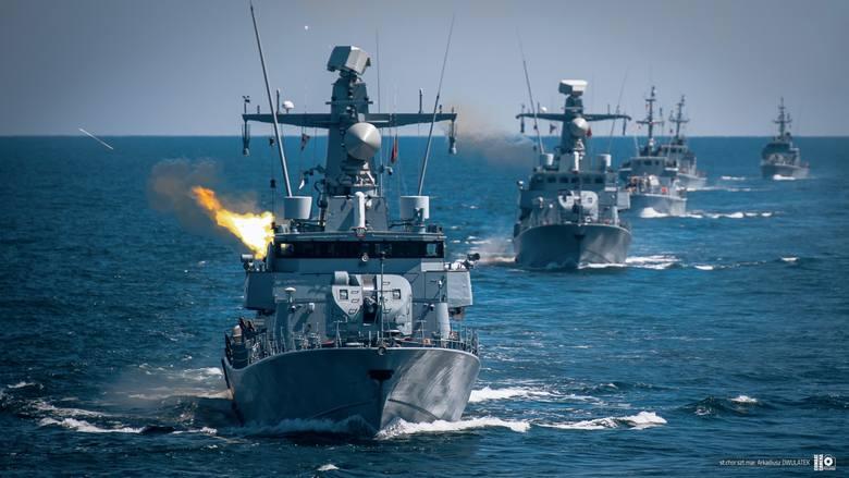 Ćwiczenie Anakonda-20 na Bałtyku. Do akcji weszła Marynarka Wojenna [ZDJĘCIA]