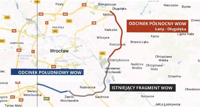 Budowa Wschodniej Obwodnicy Wrocławia znów opóźniona. Drogowcy czekają na jedno pozwolenie