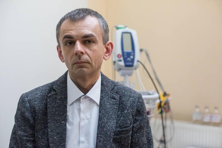 Mój sukces jest sukcesem całego zespołu ludzi, którzy zajmują się leczeniem chorych onkologicznie w Gdańsku oraz w Wejherowie - twierdzi dr Krzysztof