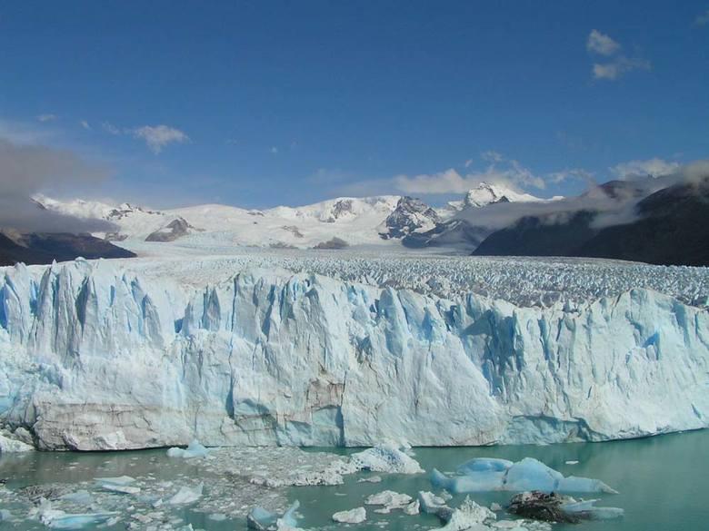 Argentyna Lodowiec Moreno najpiekniejszy lodowiec jaki widzielismy.