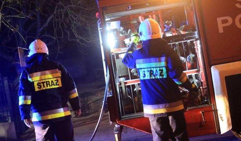 Akcja strażaków