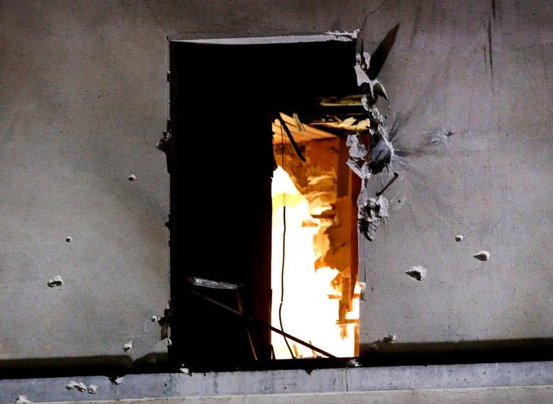 Budynek w Saint-Denis, gdzie zginął Abdelhamid Abaaoud