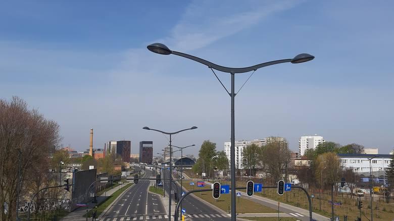 Energooszczędne latarnie na trzech łódzkich ulicach ZDJĘCIA