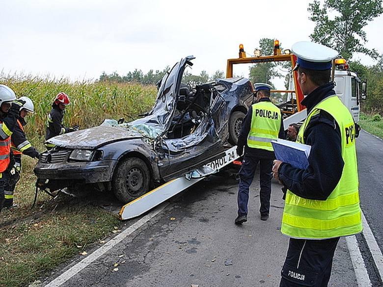 Wypadek na trasie Oleszyce - Lubaczów. Zginał 27-latek