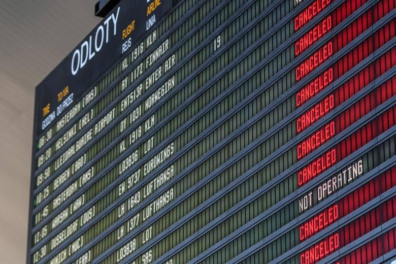 15 marca 2020wstrzymanie lotów międzynarodowychW związku z epidemią koronawirusa wstrzymane zostały wszystkie loty międzynarodowe. Wszyscy przyjeżdżający