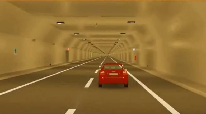 Kontrakt na budowę tunelu podpisano 29 czerwca 2016 roku. Wartość umowy, na której złożono podpisy wyniosła dokładnie 968 835 650,11 zł brutto.