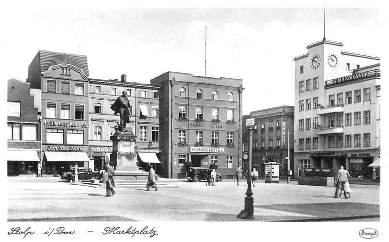 Stary Rynek na początku lat 40