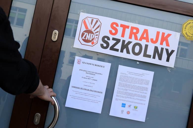 Szef ZNP Sławomir Broniarz ogłosił wczoraj datę strajku szkolnego. Ten ma się zacząć w poniedziałek, 8 kwietnia, i trwać do odwołania. Chodzi o tysiąc