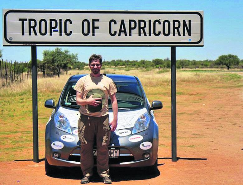 Arkady Paweł Fiedler: Jako pierwszy przejechał Afrykę z południa na północ autem na prąd