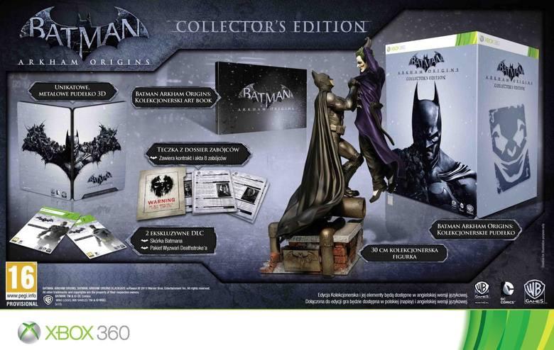 Batman: Arkham Origins. Edycja kolekcjonerska w szczegółach