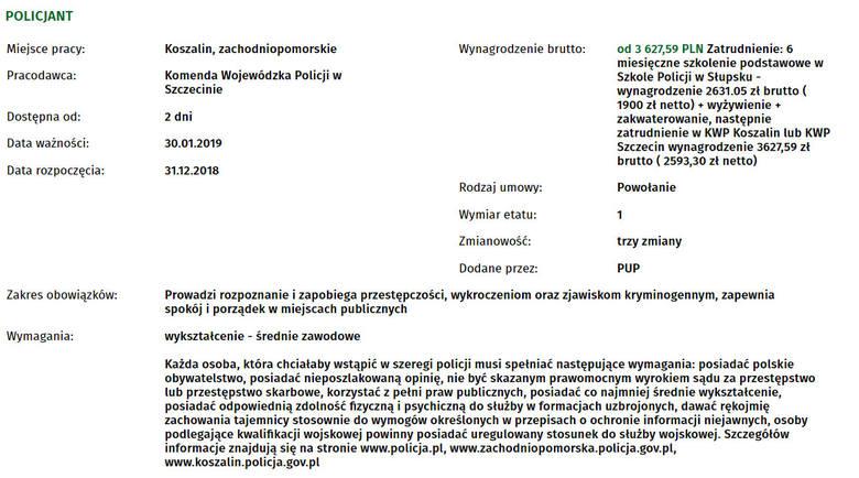 Szukasz pracy w Koszalinie i okolicach? Sprawdź aktualne oferty pracy, które wpłynęły do Powiatowego Urzędu Pracy w Koszalinie.