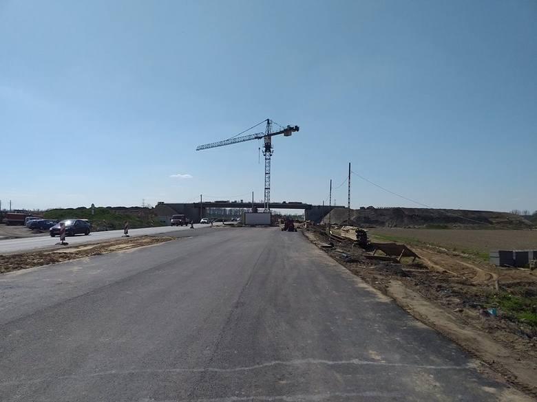 Ruch wahadłowy będzie obowiązywał na odcinku obwodnicy północnej na zachód od budowanego węzła