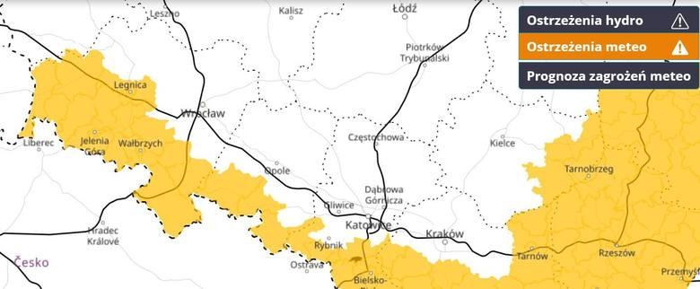 Ostrzeżenie przed silnym mrozem dla części Dolnego Śląska