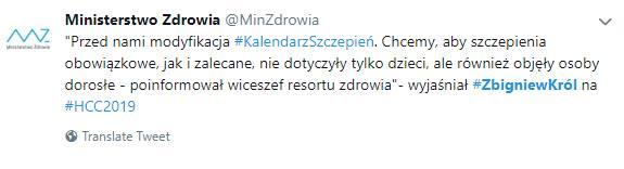 Obowiązkowe szczepienia dla dorosłych Polaków? Ministerstwo Zdrowia zapowiada spore zmiany od 2020 roku