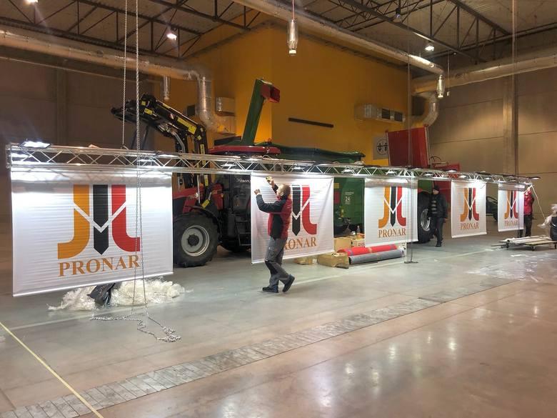 Przygotowania Pronaru do Agro Show w Ostródzie idą pełną parą. Firma z Narwi zaprasza na swoją ekspozycję do hali 5-6, stoisko 37.