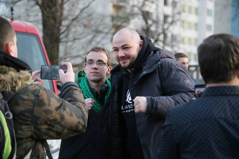Spotkanie Adama Kownackiego z kibicami we Wrocławiu [GALERIA]