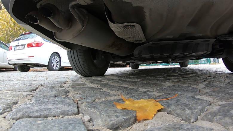 Pan Jakub zaczął się interesować historią auta, gdy pojawiły się problemy z ustawieniem zbieżności kół.