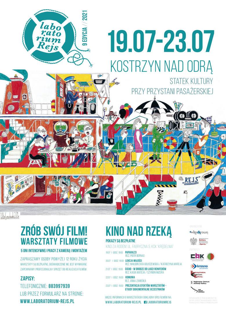 Program warsztatów w Kostrzynie nad Odrą.