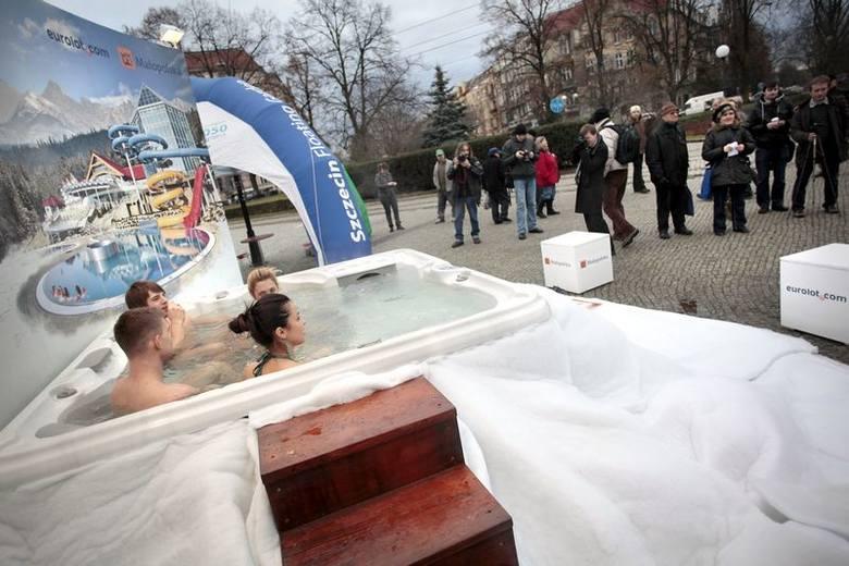 Małopolska promuje się na pl. Grunwaldzkim w Szczecinie.