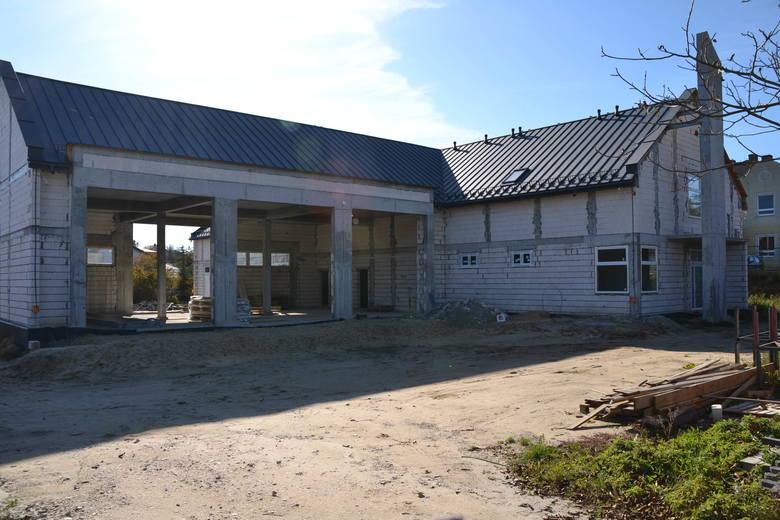 Budowa Strażnicy OSP w Małogoszczu