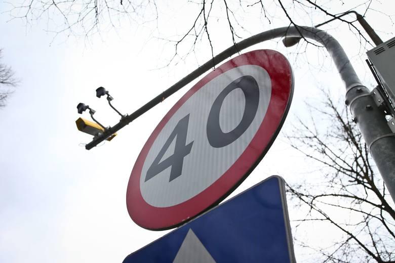 Koniec odcinkowego pomiaru prędkości na DK 61