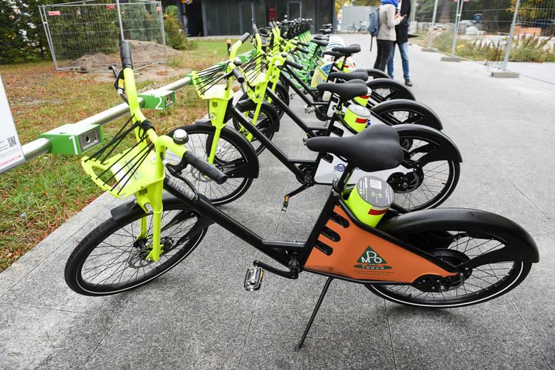 Po e - hulajnogach i skuterach do Torunia dotarły rowery elektryczne.  Usługa jest komercyjna, a więc i stawki odpowiednio wysokie, ile kosztuje ta
