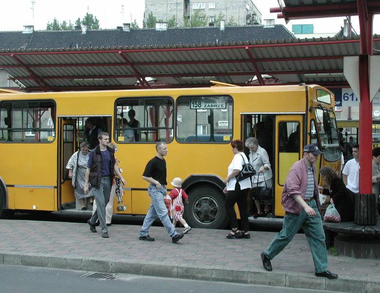 Dworzec autobusowy w Zabrzu
