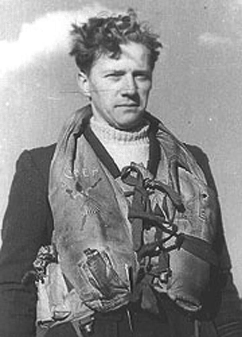 Jerzy Mencel - lotnik z Ławicy, pogromca odrzutowego Messerschmitta