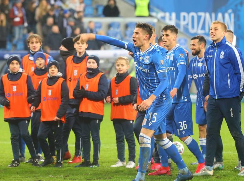 Wśród obecnych piłkarzy Lecha Poznań tylko czterech może pochwalić się ponad setką występów w niebiesko-białych barwach. Postanowiliśmy sprawdzić, ile