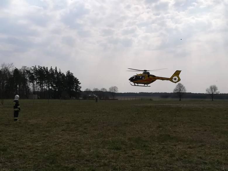 W piątek, około godz. 12, w Suchowoli doszło do nieszczęśliwego wypadku