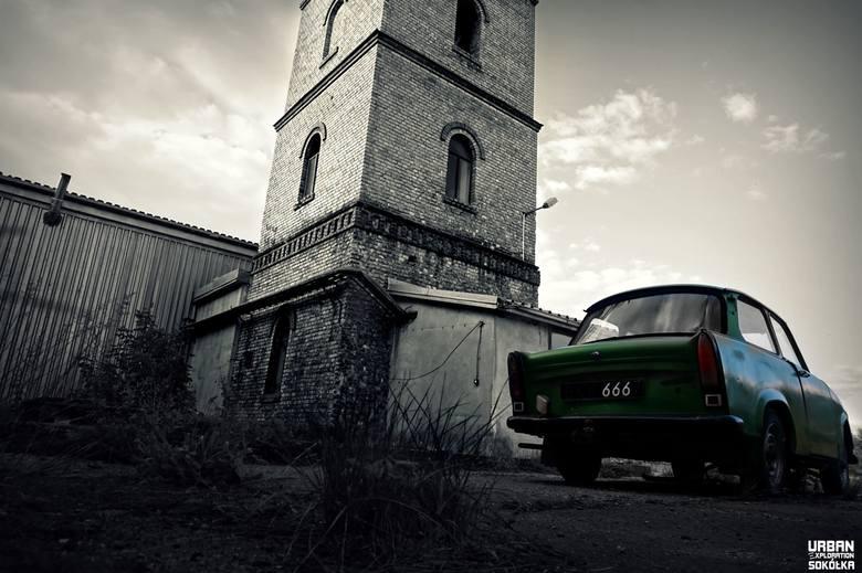 Sokólczan z Urban Exploration fascynują miejsca posiadające ciemną i przerażającą historię - stare domy, ruiny dworów, wraki od lat nieużywanych wagonów