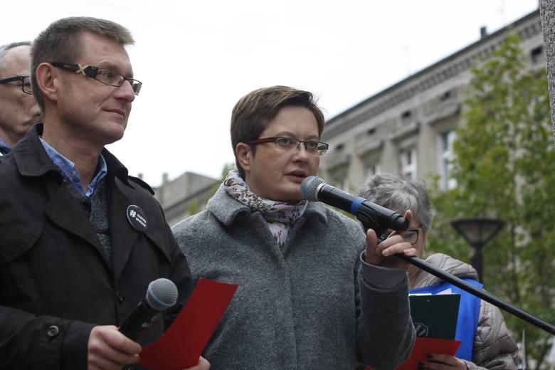 Artur Dunin i Katarzyna Lubnauer