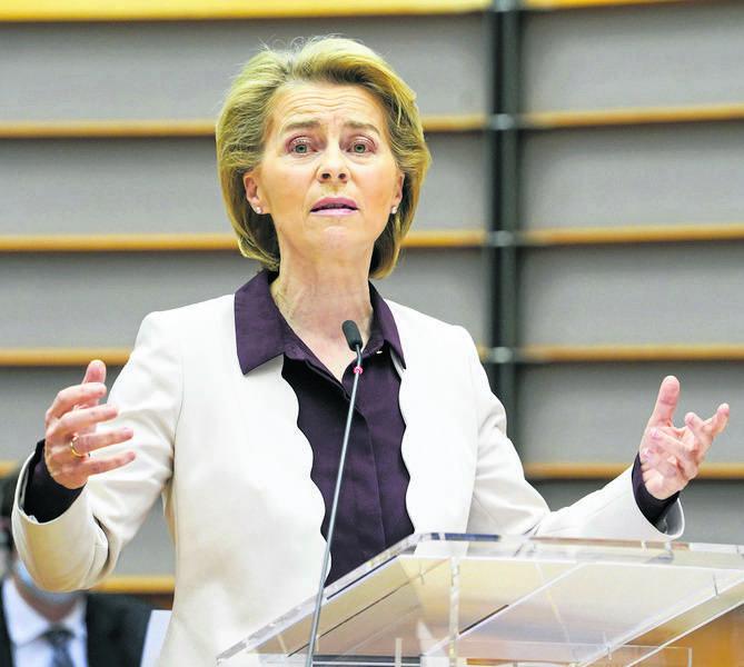 Ursula von der Leyen przedstawi posłom przegląd działań UE w walce z COVID-19 a także priorytety na następne 12 miesięcy
