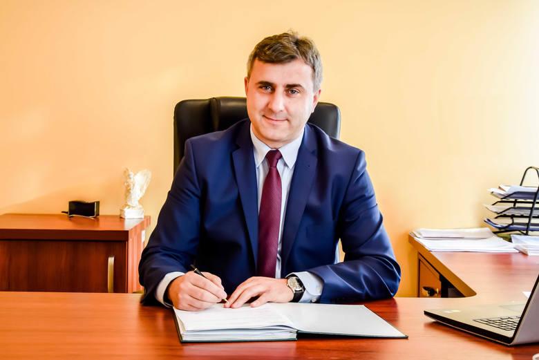 Burmistrz Dariusz Meresiński