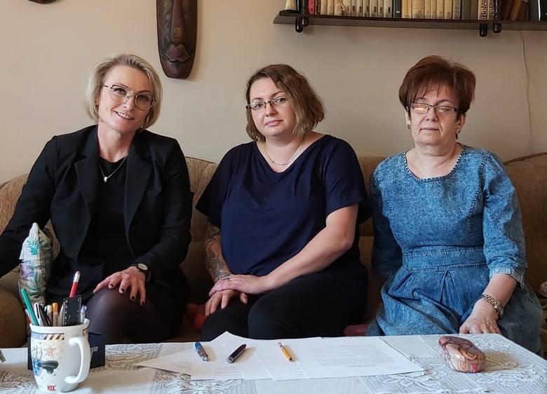 Na zdjęciu część inicjatorek Rady Kobiet, od lewej: Dorota Gruszka, Julita Jesionka, Jolanta Michałowska.