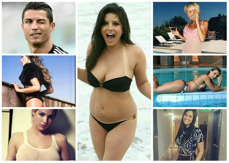 Wszystkie dziewczyny Cristiano Ronaldo. Kto by je policzył?