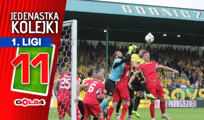 Spadek GieKSy i Bytovii. Jedenastka 34. kolejki Fortuna 1 Ligi według GOL24!