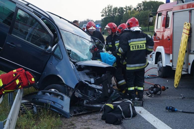 Więcej o wypadku: Śmiertelny wypadek na obwodnicy Słupska