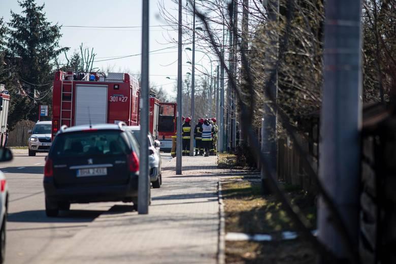 Wypadek na ul. Tragutta w Białymstoku