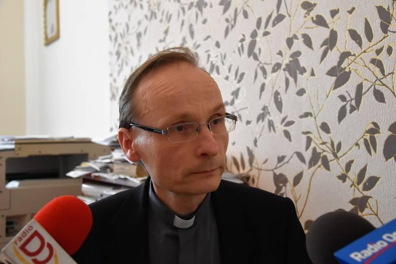 Ks. Joachim Kobienia, rzecznik Kurii Diecezjalnej w Opolu
