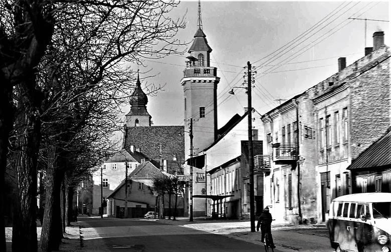 Tak wyglądał Sieradz, kiedy był stolicą województwa. Dziękujemy Ewie i Kazimierzowi Turbińskim za udostępnienie zbioru.