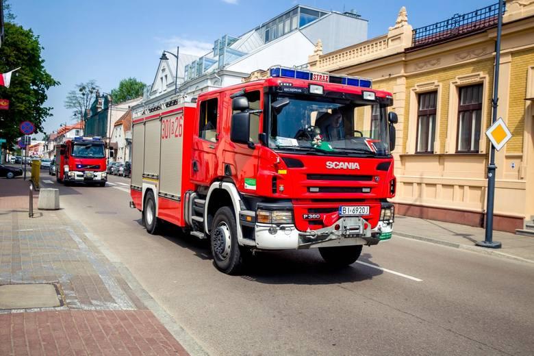 Jak informuje Komenda Wojewódzka Państwowej Straży Pożarnej w Toruniu, dziś (środa, 16 maja) po godz. 14 na drodze powiatowej nr 2831 C w miejscowości