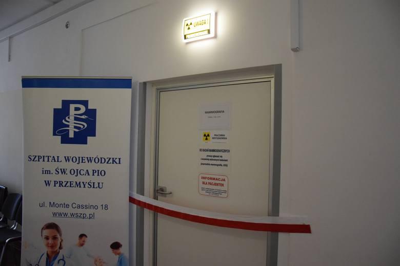 Nowoczesna pracownia mammografii została uruchomiona w budynku Wojewódzkiego Szpitala w Przemyślu przy ul. Sportowej. Jej wyposażenie kosztowało 2 mln