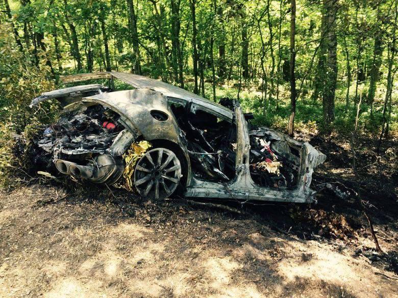 Do wypadku doszło dziś około godziny 10 na drodze Sianów - Węgorzewo w powiecie koszalińskim.