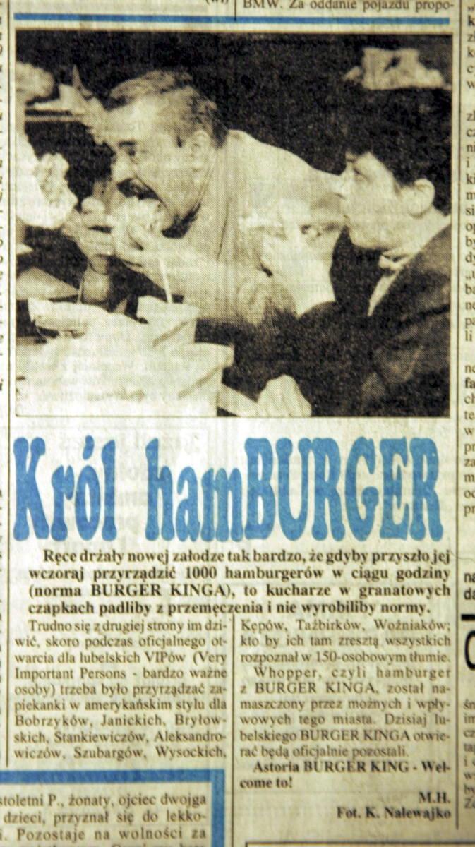 Były czasy, kiedy burgery z Ameryki wywoływały w nas wielkie emocje