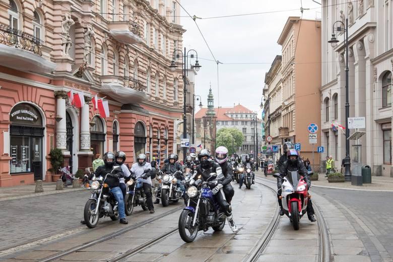 Otwarcie sezonu motocyklowego w Bydgoszcz 2018 [Zdjęcia]