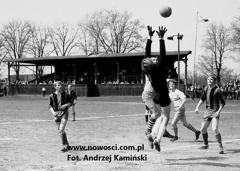 Tak wyglądał legendarny stary stadion na Chełmińskim Przedmieściu. Zdjęcie pochodzi z 1967 roku<br /> <br />