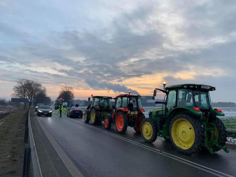 Protesty rolników 28.01.2019. Gdzie były blokady? Chłopskie powstanie w całej Polsce [zdjęcia]