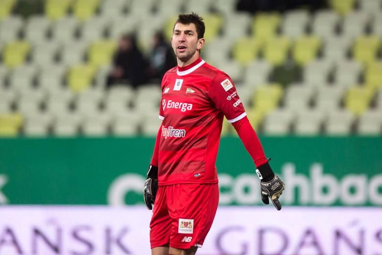 Dusan Kuciak w Lechii rywalizuje ze Zlatanem Alomerovicem